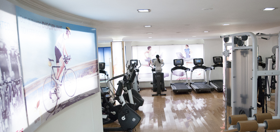 Exercise your mind and body on the state of the art GYM